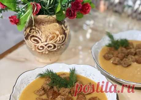 Чечевичный суп-пюре 😋😋😋 - пошаговый рецепт с фото. Автор рецепта Джамка . - Cookpad