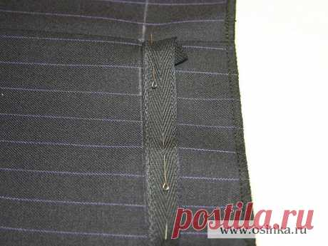 Секрет правильной подшивки брюк