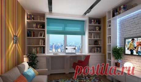 Виды и способы расположения шкафа вокруг окна