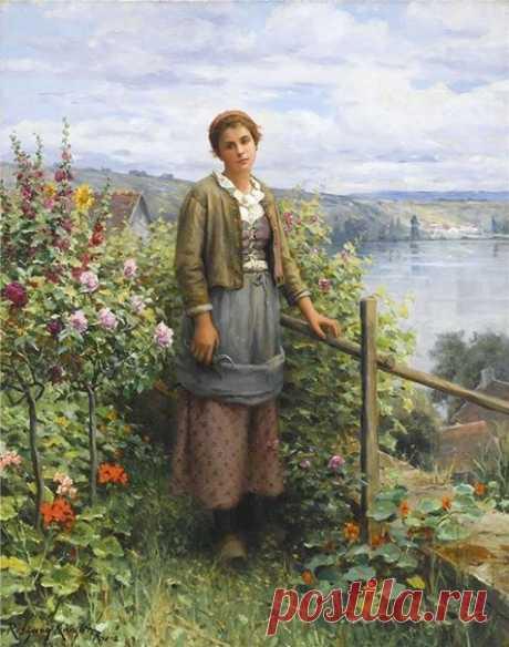 Daniel Ridgway Knight (1839-1924 ) / Слабый пол!