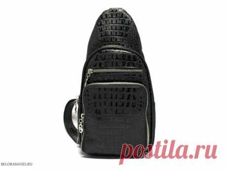 Сумка-рюкзак женский Джип Удобная сумка-рюкзак из натуральной тисненой кожи