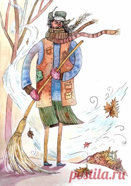 Сообщество иллюстраторов | Иллюстрация Профессии Ветров.