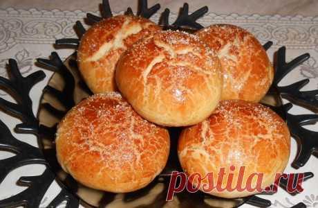 Вкусные булочки-трещинки с корицей