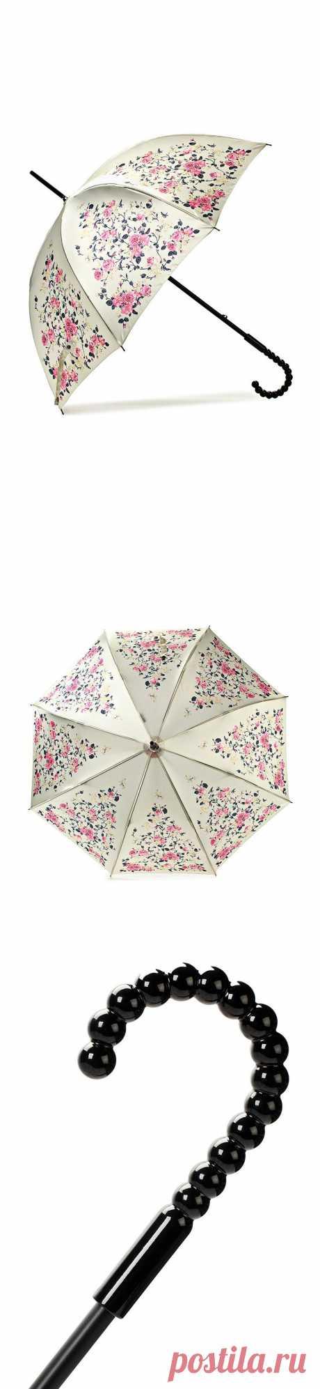 Просто супер-элегантный зонт был обнаружен на Lamoda. Нежный, красивый и недорогой!  Как быть, если хочется ВСЁ купить?:) Стоит 1420 рублей