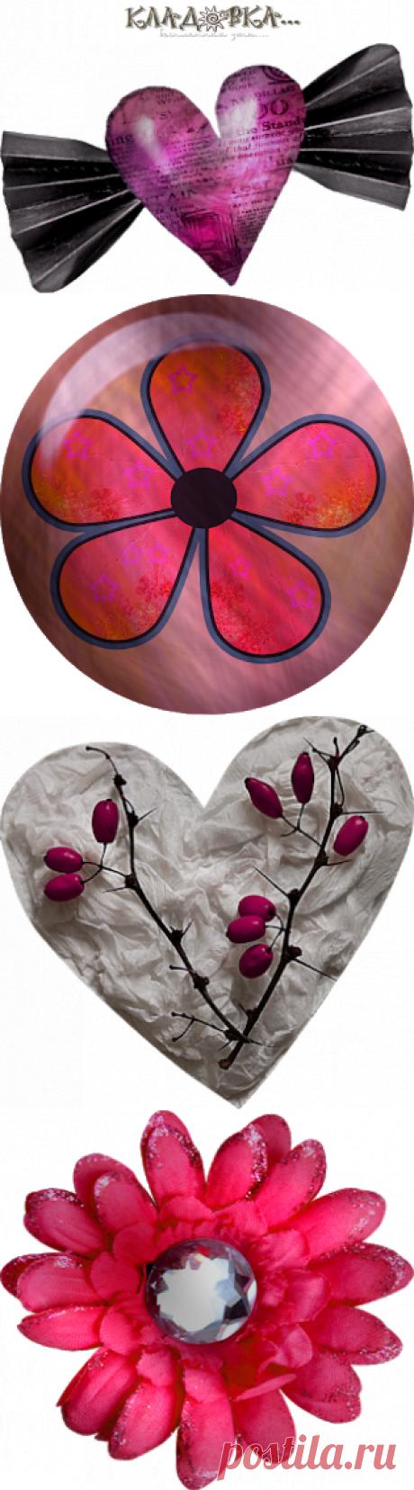 Кладовка...:  I'm in love - я влюбился распакованный скарап-набор для фотошопа png