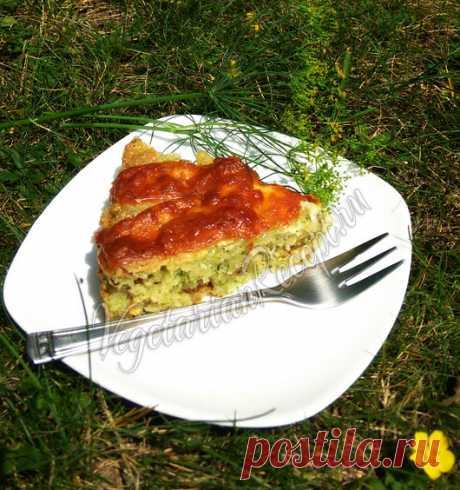 Кабачковый пирог - пошаговый рецепт с фото