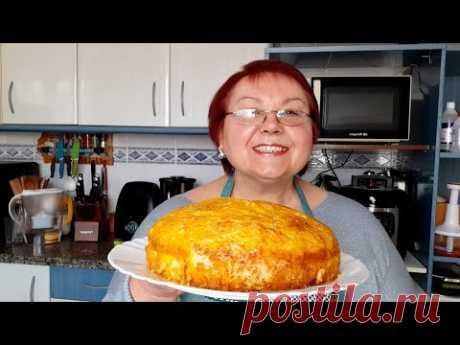 Тыквенный пирог Пирог из тыквы Быстро вкусно  полезно/ Pastel de calabaza Rápido sabroso saludable