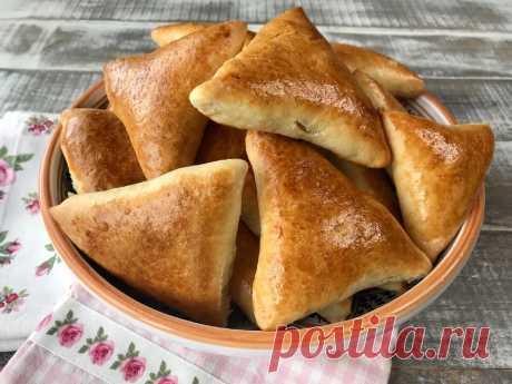 Очень удачный рецепт пышных пирожков с капустой, получаются всегда.