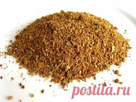 """Гарам масала - """"горячая"""" смесь специй индийской кухни"""