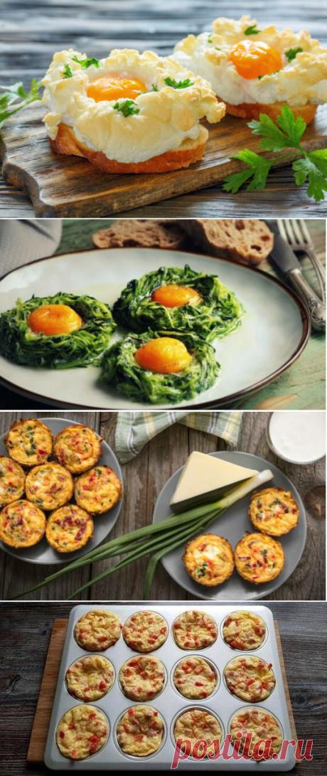 Рецепты из яиц от Перекрёстка