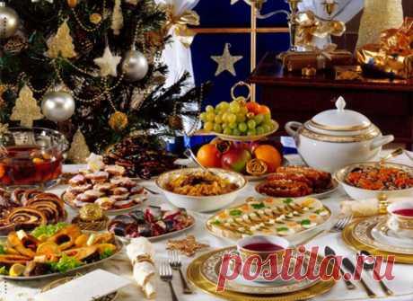 Какие блюда должны быть на новогоднем столе в год Свиньи Новости рецептов
