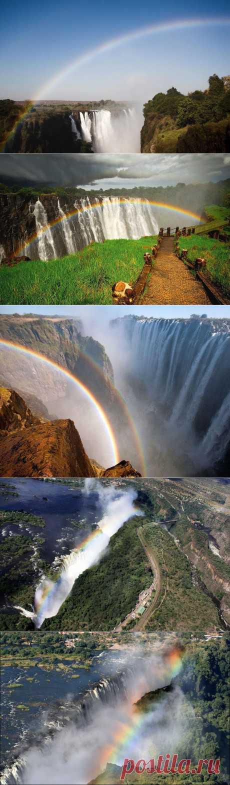 » Радуга над водопадом Виктория Это интересно!
