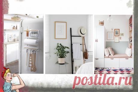 9 идей для организации пространства, которые работают даже в маленьких квартирах | Арина Дома | Яндекс Дзен