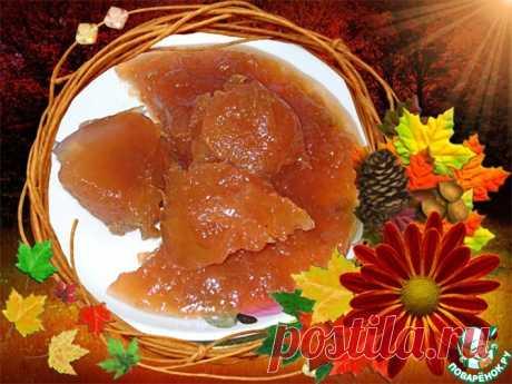 Яблочное повидло с уксусом Кулинарный рецепт