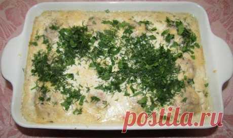Тефтели в молочно-сырном соусе — Кулинарная книга - рецепты с фото