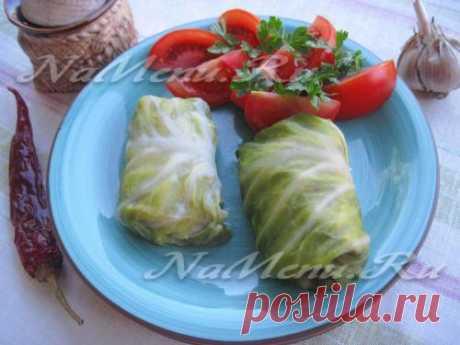 Голубцы из молодой капусты в мультиварке: рецепт