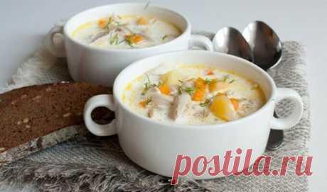 Легкий сырный суп с курицей - идеальный ПП-обед! - Стильные советы