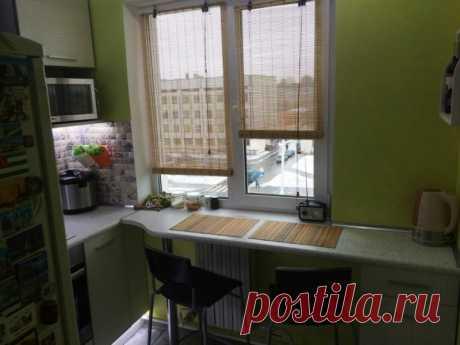 Дизайн подоконника на кухне – обеденный стол, рабочая зона, скамья » Sam-Sdelay.RU – Сделай сам!