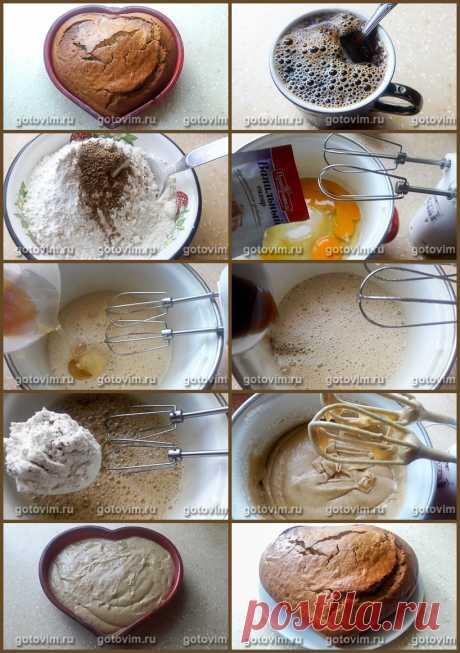 Медовый кекс на кофе