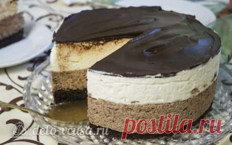 Сливочно-шоколадный торт рецепт с фото – пошаговое приготовление торта со сливками и шоколадом