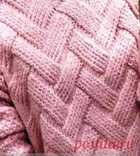 Интересный узор для пуловера из категории Интересные идеи – Вязаные идеи, идеи для вязания