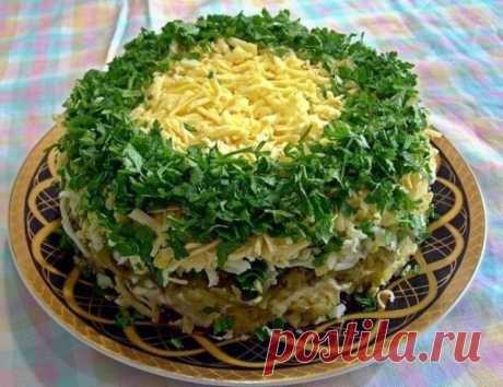 10 салатов с ГРИБАМИ - Сайт gotovimpr!
