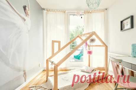 Как сделать кровать в форме дома? Пошаговое руководство