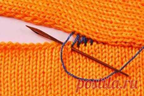 Как сшить вязаные детали иглой или крючком: 2 классных способа… | Краше Всех