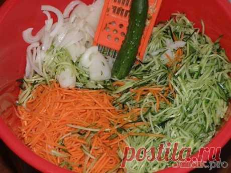 Салат из огурцов по корейски рецепт с фото