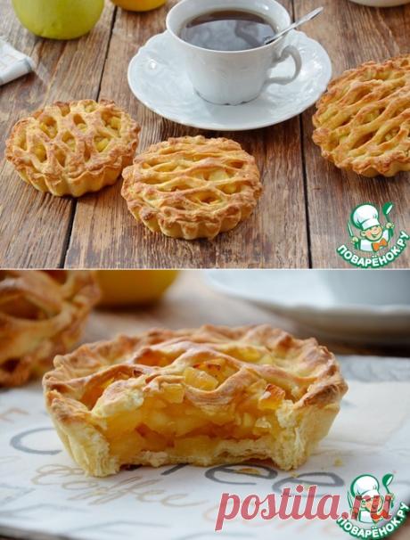 Пироги «корзиночки с яблоками»