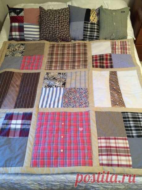 Классные идеи применения старых рубашек и платьев