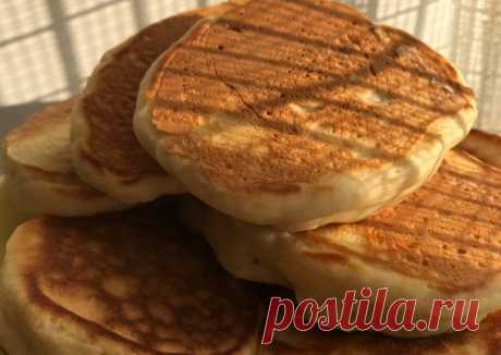 (13) Пышные оладьи на кефире - пошаговый рецепт с фото. Автор рецепта Галия Грушевая🏃🏻♀️ 🏃♂️ . - Cookpad