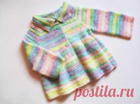 Пальто крючком для девочки 2-х лет » «Хомяк55» - всё о вязании спицами и крючком