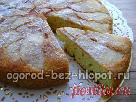 Шарлотка на сковороде с яблоками без духовки, пошаговый рецепт с фото
