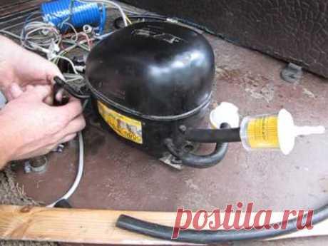 El compresor del refrigerador para nakachki de las ruedas