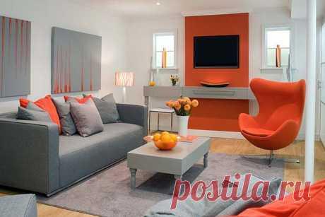 Оранжевый цвет в интерьере дома: какие выбрать под него полы и обои, чтобы дизайн был стильным и элегантным узнайте на сайте Волгоград Stone Floor  #оранжевыйвинтерьере#оранжевыйпалитрыцветов#палитрыоранжевого#счемсочетатьоранжевый#Волгоград#Stonefloor#оранжевыйввкомнате
