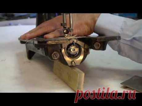 Почему рвётся верхняя нить в Подольской швейной машине?