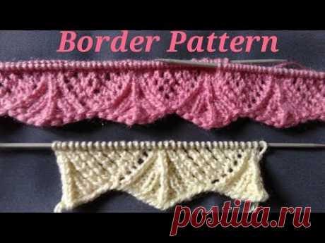 LATEST ZigZag Border Design - YouTube