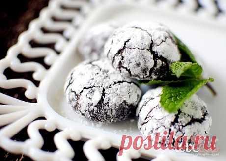 Шоколадно-мятное печенье - Loveeat - социальная сеть кулинаров