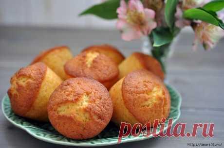 Рецепт медовых кексов с апельсином