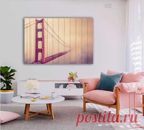 """Картина """"Мост в тумане"""" по цене от 5900 руб. Размеры: 60x90 см, 80x120 см, 100x150 см, 120x180 см. Срок изготовления: 2-3 дня."""