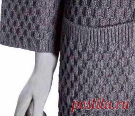Плотный узор для пальто или жакета