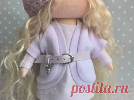 Мастер-класс : Шьем куколку: детали куклы   Журнал Ярмарки Мастеров
