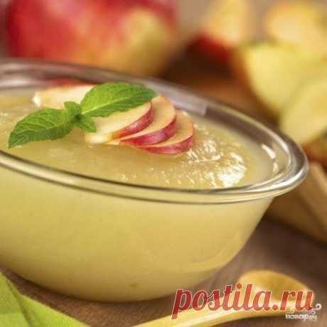 Яблочное пюре для идеального зефира - рецепт приготовления