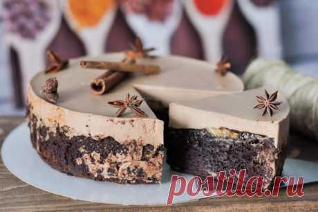 Шоколадно-банановый торт | HomeBaked