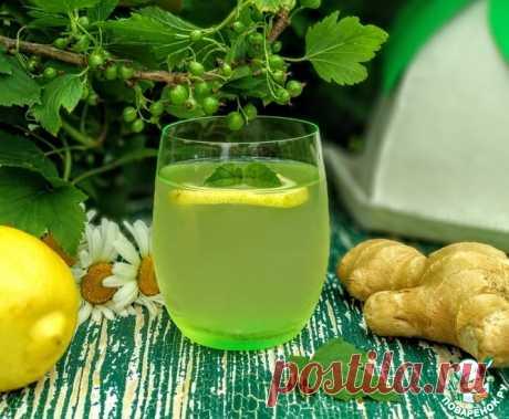 Холодный чай из листьев черной смородины Кулинарный рецепт