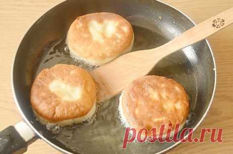 Беляши с картошкой (постные) — Хозяюшка