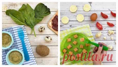 Питание ребенка - 15 вкусных рецептов для детей от 1 года