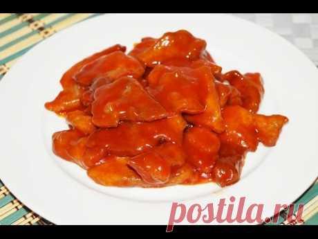 Свинина в кисло-сладком соусе. Готовим знаменитое блюдо как в китайском ресторане.
