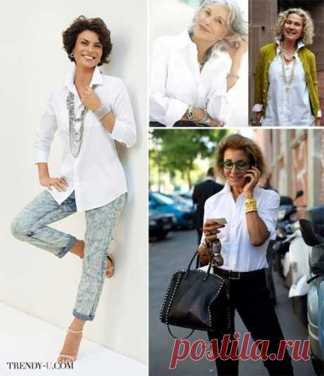 Умри, но купи (6 вещей, которые должны быть у каждой)      1. Белая рубашкаНеобходимейшая базовая вещь - даже не сосчитать сколько вариантов образов позволит этот простой предмет одежды.        2. Чёрные брюки любой модели - карандаш или дудочки, широкие…